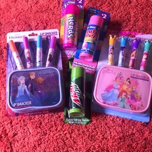 Disney Princess & Frozen2 LipSmackers & 3 LipBalms